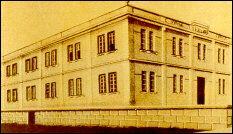 Mondaino 1917: Eerste fabriek van de gebroeders Galanti